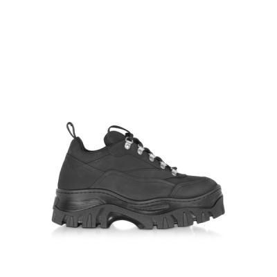 エムエスジーエム MSGM レディース スニーカー シューズ・靴 Black Tractor Sneakers Black