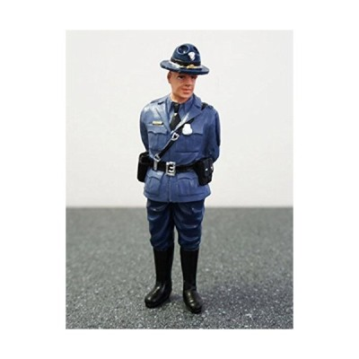 State Trooper Craig Figure For 118 Diecast Model Cars by American Diorama 1