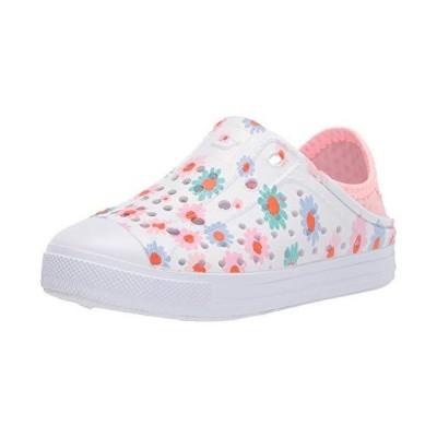 Skechers Girls' Cali Gear Water Shoe, White/Pink