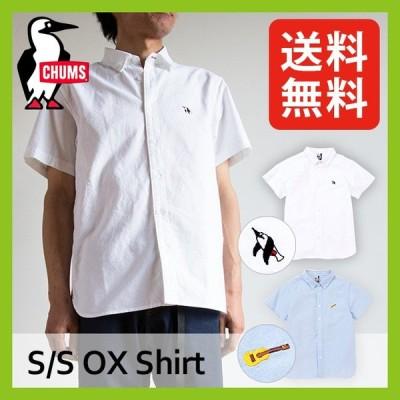 CHUMS チャムス チャムスOX S/S シャツ メンズ CH02-1153 トップス シャツ カラーシャツ カジュアルシャツ キャンプ アウトドア