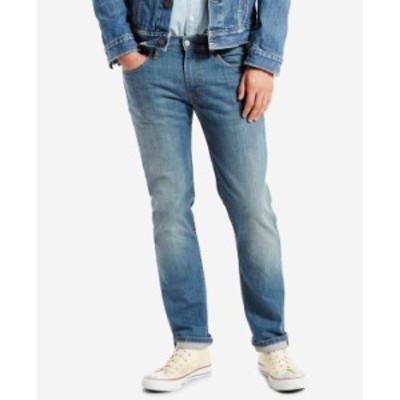 リーバイス メンズ デニムパンツ ボトムス Men's 511 Slim Fit Jeans Pumped Up - Waterless