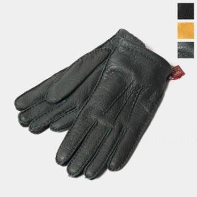 【アウトレット】デンツ DENTS 革手袋 Hampton ペッカリー カシミヤライニング 15-1564【送料無料】