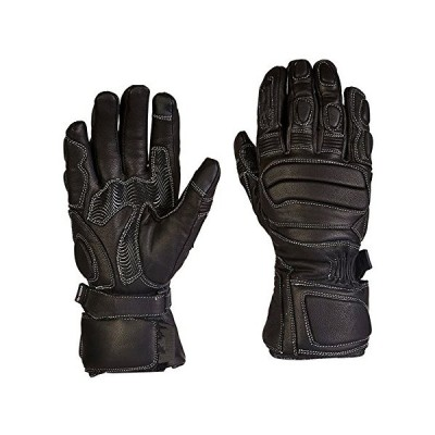 MDYYD Motorcycle Gloves Outdoor Sports Waterproof Motorcycle Leather Gloves for Road Bike,Mountain Biking,Racing Idral for Winter Ideal for Riding and