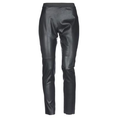 パロッシュ P.A.R.O.S.H. パンツ ブラック M 羊革(ラムスキン) パンツ