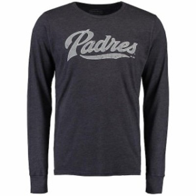 Majestic Threads マジェスティック スレッド スポーツ用品  Majestic Threads San Diego Padres Navy Long Sleeve Tr