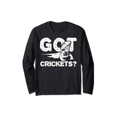 昆虫: Got Crickets? 長袖Tシャツ