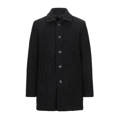 SWISS-CHRISS コート ブラック S ポリエステル 60% / ウール 20% / レーヨン 20% コート