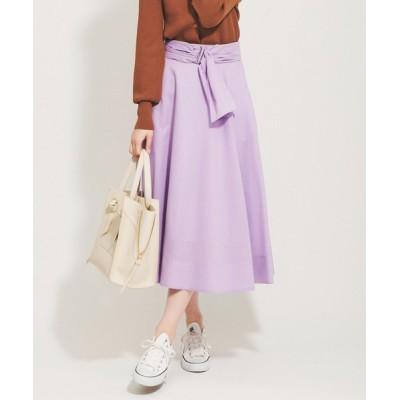 The Virgnia / シアーカラーフレアスカート WOMEN スカート > スカート