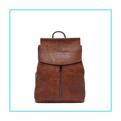 WHITE MACAQUE Women Backpack PU Vegan Leather Convertible Camel Shoulder Bag Fashion Ladies Handbag【並行輸入品】