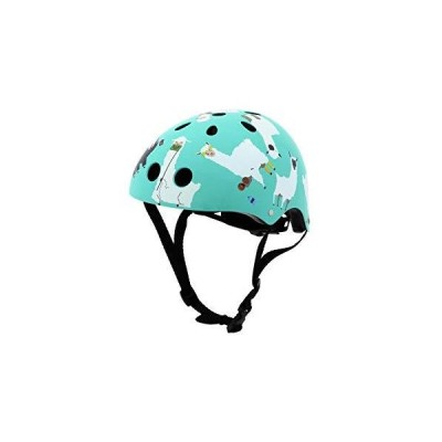 Hornit Mini Lids Multi-Sport Helmet with Rear Light | Biking, Skateboarding, and Skating | Fully Adjustable for Comfort and Safety, Lazy Lla