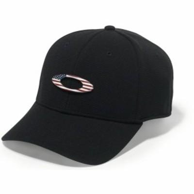 オークリー Oakley メンズ キャップ 帽子 Tincan Cap Black/American Flag