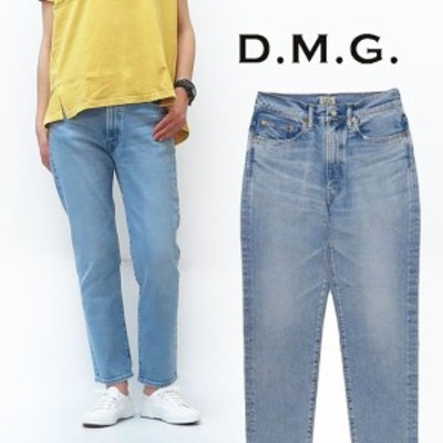 ドミンゴ D.M.G. DOMINGO 5ポケット デニム アンクル テーパード パンツ レディース 14-042C MADE IN JAPAN