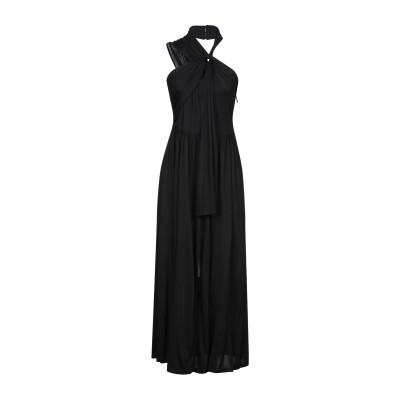 エムエスジーエム MSGM 7分丈ワンピース・ドレス ブラック 40 レーヨン 100% 7分丈ワンピース・ドレス