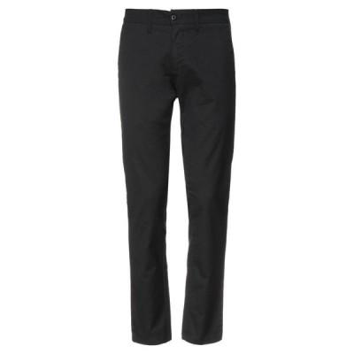 CARHARTT チノパンツ  メンズファッション  ボトムス、パンツ  チノパン ブラック