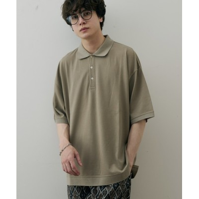 Discoat / カノコビッグポロシャツ MEN トップス > ポロシャツ
