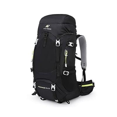 N NEVO RHINO 登山リュック ザック 50L 多機能 リュックサック 大容量バックパック 山登り キャンプ用バッグ ハイキング ア