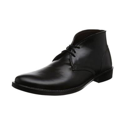 [ノン] レインブーツ チャッカブーツ 防水 抗菌 脱臭 1900 メンズ (ブラック 26.0 cm)