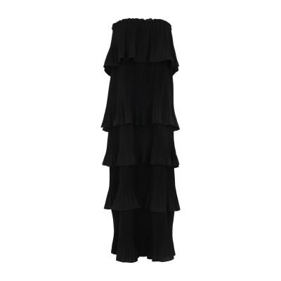 エッセンシャル・アントワープ ESSENTIEL ANTWERP 7分丈ワンピース・ドレス ブラック 36 ポリエステル 100% 7分丈ワンピース