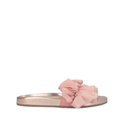 シャーロット・オリンピア CHARLOTTE OLYMPIA サンダル ライトピンク 36 革 / 紡績繊維 サンダル