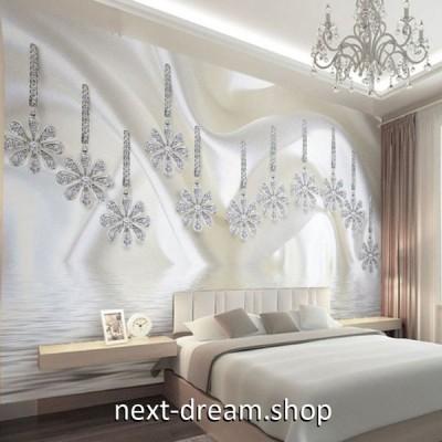 3D 壁紙 1ピース 1m2 シルク布 ジュエリー スワロ DIY リフォーム インテリア 部屋 寝室 防湿 防音 h03080