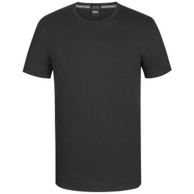 ヒューゴボス メンズ Tシャツ トップス BOSS Men's Regular/Classic-Fit Cotton T-Shirt Black