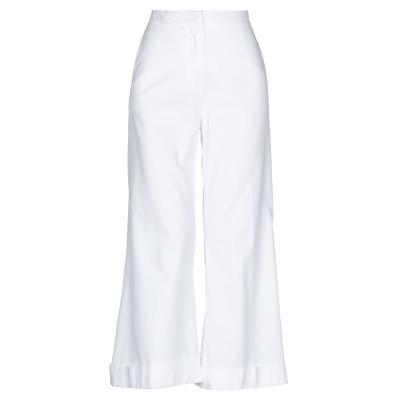 DANIELA PANCHERI パンツ ホワイト 38 コットン 100% パンツ