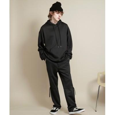 EMMA CLOTHES / 【セットアップ】ビッグシルエット クオリティーブライト裏毛 プルオーバーパーカー&ドローコードスウェットパンツ EMMA CLOTHES MEN トップス > パーカー