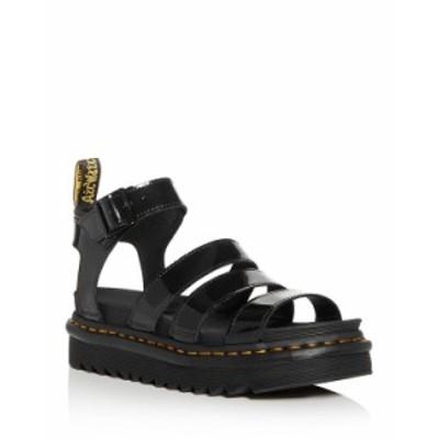 ドクターマーチン レディース サンダル シューズ Women's Blaire Ankle-Strap Platform Sandals Black