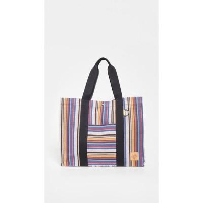ゴーディ Goodee レディース トートバッグ バッグ Bassi Medi Market Tote Multi Color Stripe