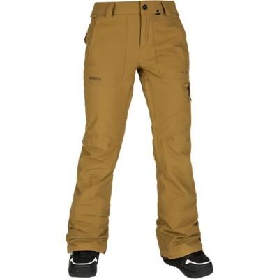 ボルコム Volcom レディース スキー・スノーボード ボトムス・パンツ Knox Insulated Gore - Tex Pant Burnt Khaki