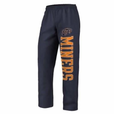 Fanatics Branded ファナティクス ブランド スポーツ用品  Fanatics Branded UTEP Miners Navy Sideblocker Fleece Pants