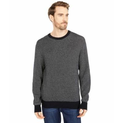 ドッカーズ ニット&セーター アウター メンズ Crew Neck All Over Texture Stitch Sweater Black Gray Heather Honeycomb