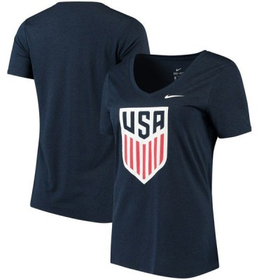 ナイキ レディース Tシャツ トップス US National Team Nike Women's Legend V-Neck T-Shirt