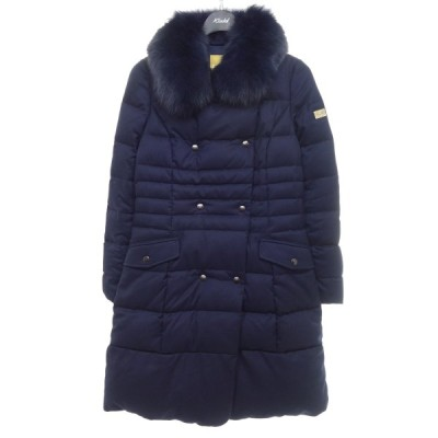 【1月25日値下】FERVOR KATE ダウンコート ネイビー サイズ:40 (京都店)