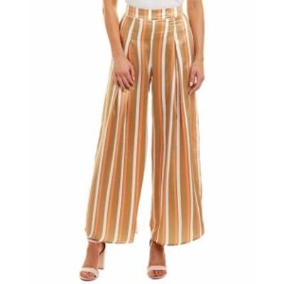 ファッション パンツ Flying Tomato Womens Jealous Tomato Wide Leg Satin Pant L