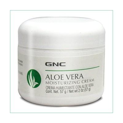 GNC Aloe Vera Moisturizing Cream 2 OZ[並行輸入品]