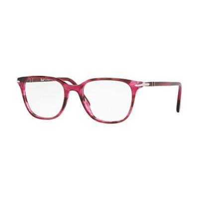 海外限定 Eyeglasses Persol PO 3203 V 1084 STRIPED BLACK CHERRY