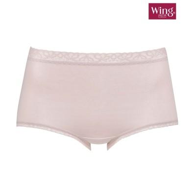 【Wing / Wacoal ウイング/ワコール】デイリーフィットショーツ はきこみ丈。深め(L) スタンダードショーツ, Panties