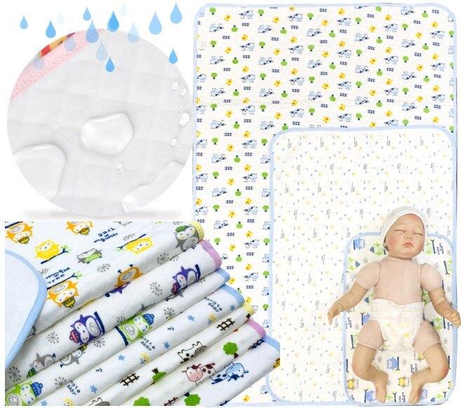 H061空氣棉隔尿墊 新生兒 尿布墊 防水 生理墊 保潔墊 嬰兒床墊 防塵墊 遊戲地墊 三層設計 童衣圓 S~L號