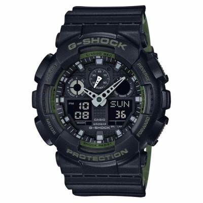カシオ 腕時計 -NEW- Casio G-Shock Black Magnetic Resistance Watch GA100L-1A