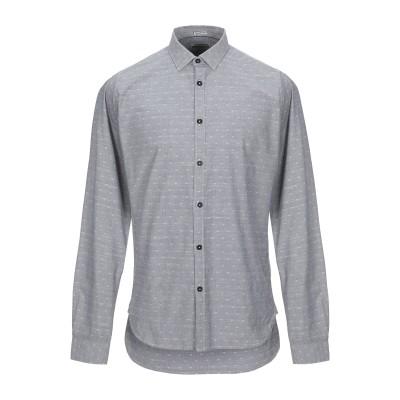 DSTREZZED シャツ グレー M コットン 100% シャツ