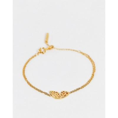 オリビア バートン Olivia Burton レディース ブレスレット ジュエリー・アクセサリー Olivia burton butterfly wing bracelet In gold ゴールド