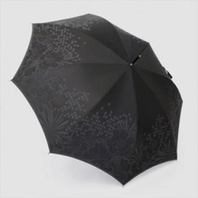 槙田商店【紳士晴雨兼用】長傘 monotone 花