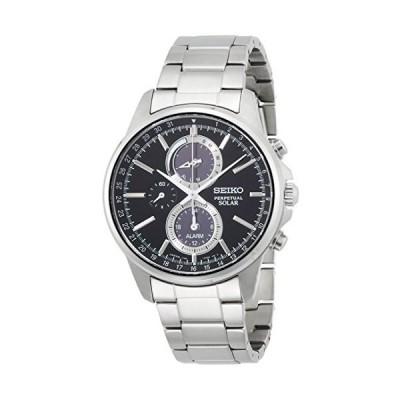[セイコーウォッチ] 腕時計 スピリット ソーラー クロノグラフ サファイアガラス SBPJ005 シルバー