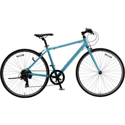 クロスバイク シオノ バルト AL 700C 外装6段 (NJブルー) 2021 SHIONO VALT AL 7006 塩野自転車