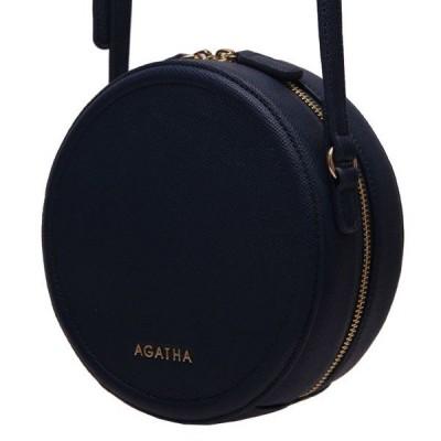 AGATHA(アガタ)AGT201-123 ミニタンバリンクロスバッグ/ネイビー