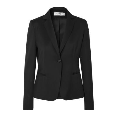 マックスマーラ MAX MARA テーラードジャケット ブラック 40 バージンウール 100% テーラードジャケット