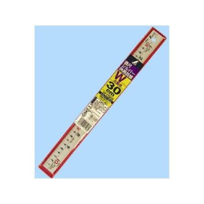 シンワ測定 直尺 シルバー 30cm 併用目盛 W左基点 cm表示 赤数字入 13203