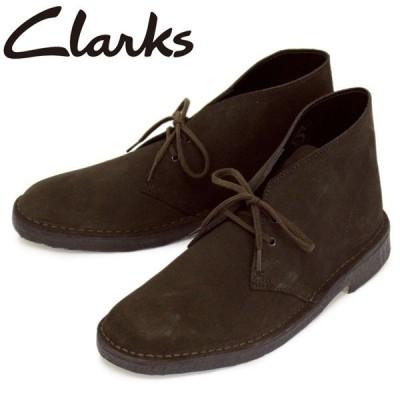 Clarks (クラークス) 26138229 Desert Boot デザートブーツ メンズブーツ Brown Suede CL008