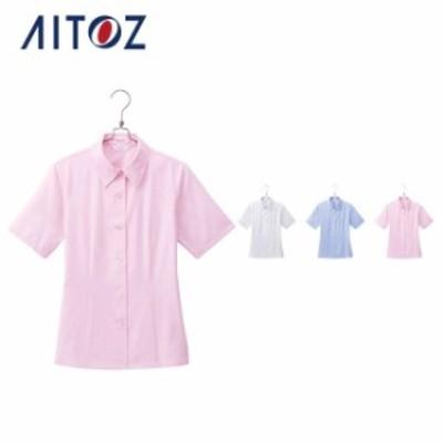 AZ-HCB8100 アイトス 半袖ブラウス | 作業着 作業服 オフィス ユニフォーム メンズ レディース